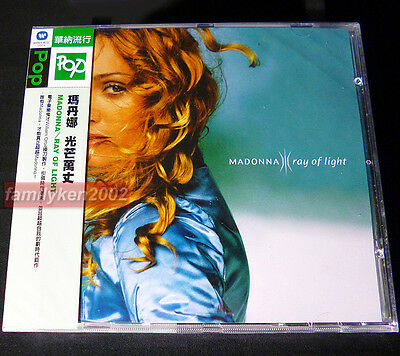 Madonna 1998 RAY OF LIGHT Taiwan RARE CD w/OBI SEALED! Frozen madame x
