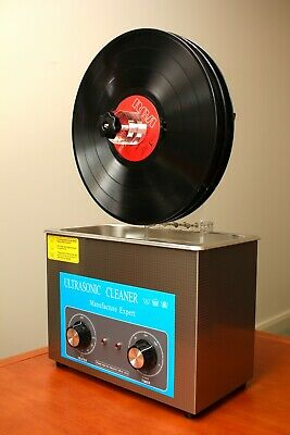 Ultrasonic Record Cleaner Complete Set - NEW STOCK !!!