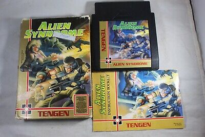 Alien Syndrome (Nintendo NES) Complete in Box FAIR