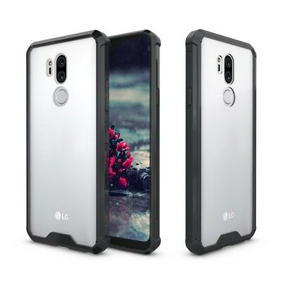 Armor Transparent Acrylic + TPU Hybrid Phone Case Cover for LG G7 ThinQ