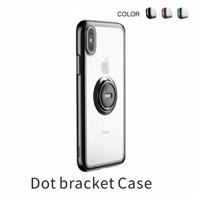 BASEUS Dot Bracket Kickstand TPU Mobile Phone Case Cover for iPhone XR 6.1 inch