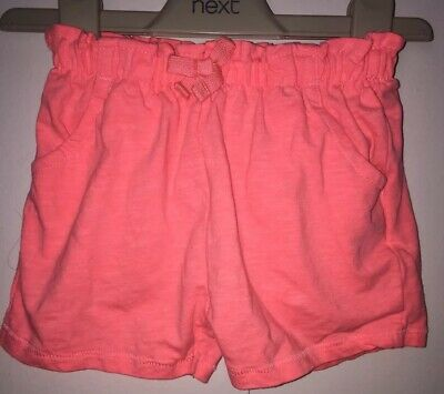 Girls Age 2-3 Years - Next 2017 Pink Shorts