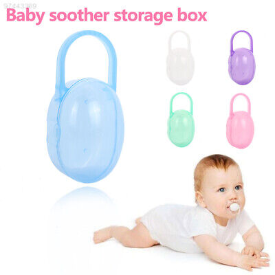 922E 5 Colors Infant'S Pacifier Box Kids Container Holder Gifts