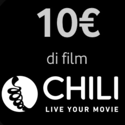 Chili Cinema Gift Card Da 10 € Voucher Coupon Codice Buono A 5 € Sconto Del 50%