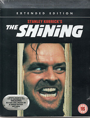 THE SHINING - UK Limited Edition - Blu Ray & Dvd - Rare Extended Version !!!