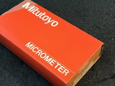 Mitutoyo Combimike Digital Outside Micrometer 0 to 25mm 0.01mm Graduation