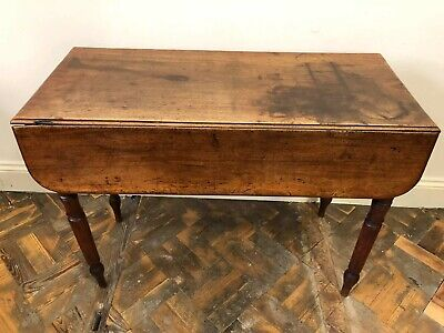 Antique Mahogany Drop Leaf Pembroke Table - Delivery Available