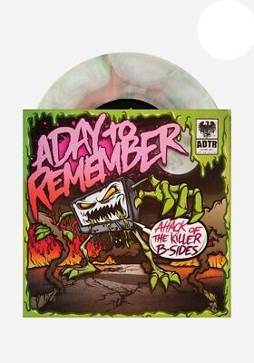 "A Day To Remember - Attack Of The Killer B-Sides // Vinyl 7"" ltd to 250 on Green"