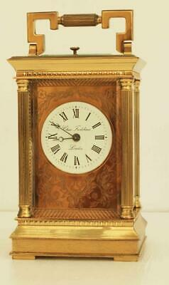 Charles Frodsham London Twin Fusee Repeater Carriage Clock No 00599