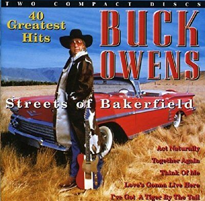 Owens, Buck - Streets Of Bakersfield - 40 Greatest Hits - Owens, Buck CD NCVG