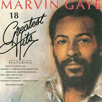 Various Artists - 18 Greatest Hits: Marvin Gaye - Various Artists CD NFVG The
