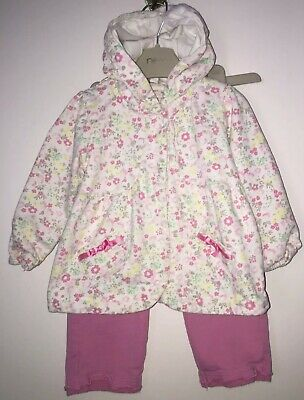 Girls Age 9-12 Months - Kanz Joggers And Hooded Top