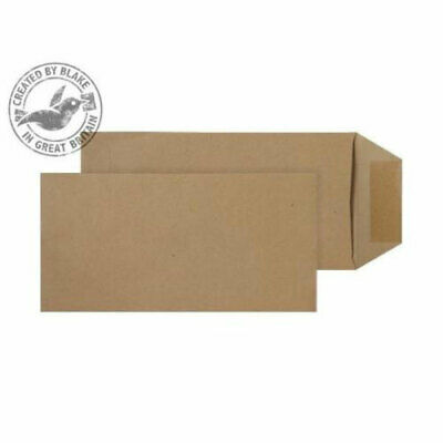 Purely Everyday DL Manilla Press Seal Envelopes 500's