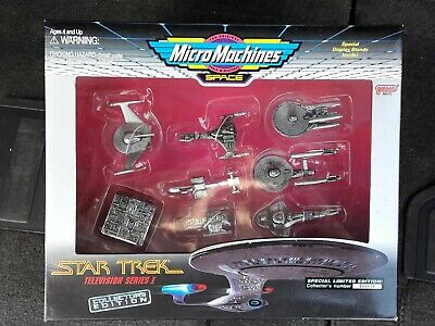 New Micro Machines Space Star Trek Television Series I Collector's Set 66072