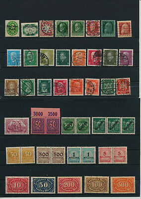 Germany, Deutsches Reich, Nazi, liquidation collection, stamps, Lot,used (CA 19)