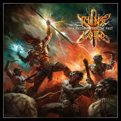 RUNELORD - A Message From the Past (NEW*EPIC METAL*CIRITH UNGOL*MANOWAR)