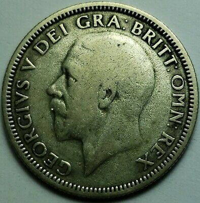 Silver Shillings (.50) George V  1920 To 1936 Choice Of Date-British