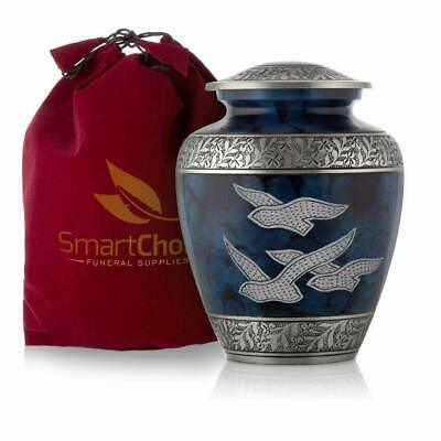 SmartChoice Cremation Urn for Human Ashes - Beautiful Wings of Freedom Funeral