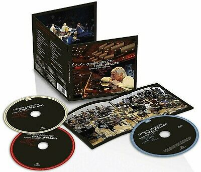 PAUL WELLER CD x 2 + DVD Other Aspects LIVE At The Royal Festival Hall IN STOCK