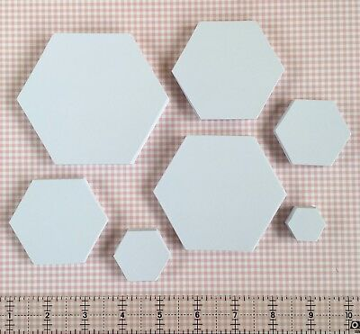 English Paper Piecing Hexagon Templates | Pack Sizes 100/250
