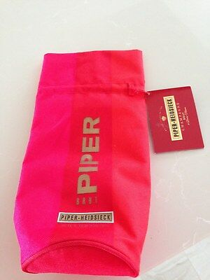 Red Insulated Champagne Or Wine Cooler Bag Piper Heidsieck BRUT Reims France