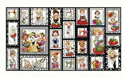 Loralie Designs * Sew Curious Quilt Panel * New * Free Post *