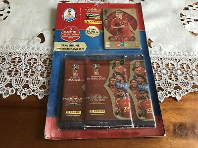 Panini Adrenalyn XL FIFA WORLD CUP RUSSIA 2018  MULTIPACK ...5 SACHETS + 1 LE