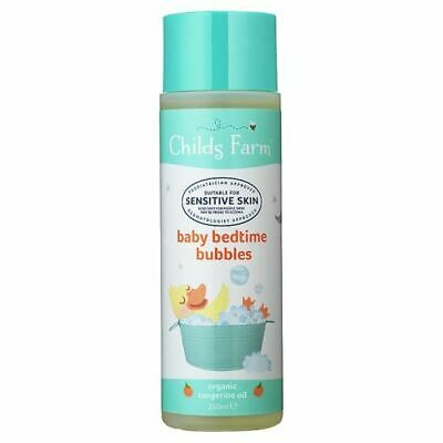 Childs Farm Organic Baby Bedtime Tangerine Bubble Bath 250Ml