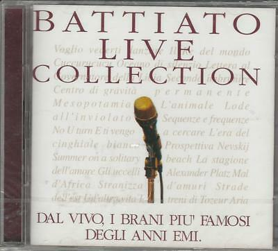 Cd Doppio   Franco Battiato :  Live Collection  Con 29 Brani Nuovo Sigillato