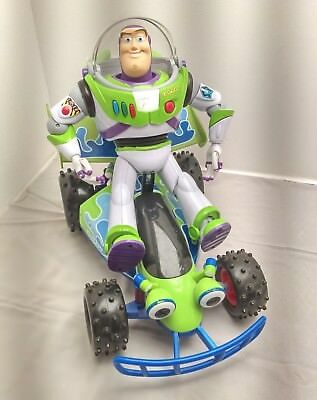 Lotto Disney Pixar Toy Story RC Buggy Car Indipendente + Il Robot Buzz L'lampo