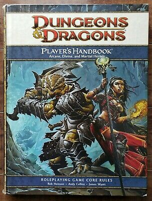DUNGEONS & DRAGONS: Player's Handbook: Arcane, Divine and Martial Heroes (2008)