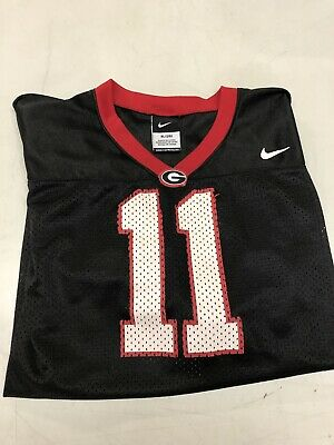 346d0cc5 Georgia Bulldogs Dawgs #11 black Jake Fromm jersey Kids Child XL Size 20