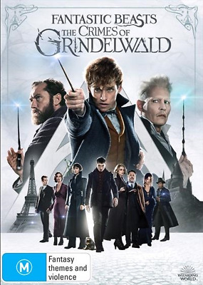 Fantastic Beasts - The Crimes Of Grindelwald (DVD, 2019) (Region 4) New Release