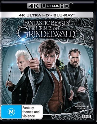 Fantastic Beasts: The Crimes of Grindelwald (4K Ultra HD/ Blu-Ray) (Region B)