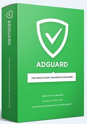 Adguard Premium - 1 PC/MAC DEVICE 1 YEAR - Original License Key Worldwide