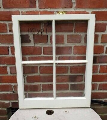 "19""×24"", 4 Pane Wood Window Antique Vintage Farmhouse Wedding Decor Country Art"