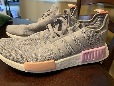beaaffd56 ADIDAS NMD R1 Clear Onix Vapour Pink - Size 9 -  80.00