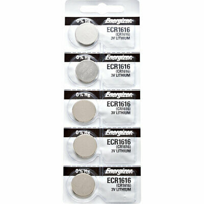 5 x Energizer CR1616 Batteries, Lithium Battery 1616 | Shipped from Canada