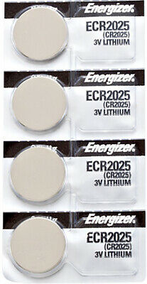 4 x Energizer CR2025 Batteries, Lithium Battery 2025   Shipped from Canada
