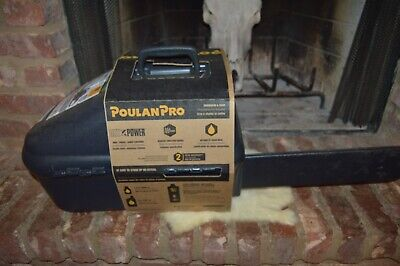 "Brand New  POULAN Pro PR4218 18"" 42CC Chainsaw & Carry Case {Free Shipping}"