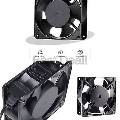 High Speed with ... Zhanye Muffin 120x120x38 AC 120V Computer Axial Cooling Fan