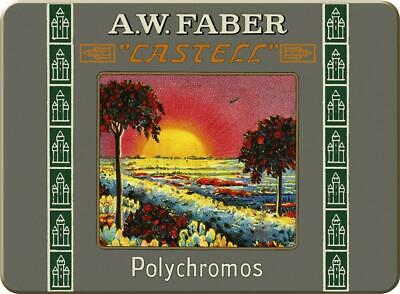 Faber Castell 111th Anniversary Limited Edition Polychromos 12 Short Pencil Tin