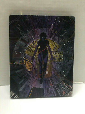 ~* Ghost in the Shell (Blu-ray Disc, 2017, SteelBook )