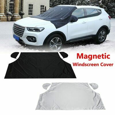 US Car Magnetic Half Windscreen Cover Sun Protection UV resistant & Waterproof