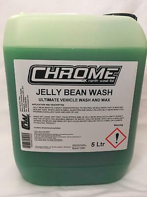 "Chrome Cleaning Products 5 LTR ""Jelly Bean Wash"""