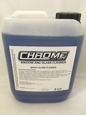 """Chrome Cleaning Products 5 LTR """"Window and Glass Cleaner"""""""