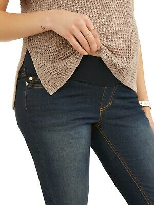 ed54b7a677 Oh! Mamma Maternity Demi-Panel Super Soft Skinny Jeans - Available in Plus  Sizes
