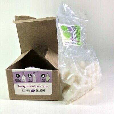 Baby Bits Tea tree Lavender Wipes Solution1000 Wipes USED 90% LEFT DMG BOX