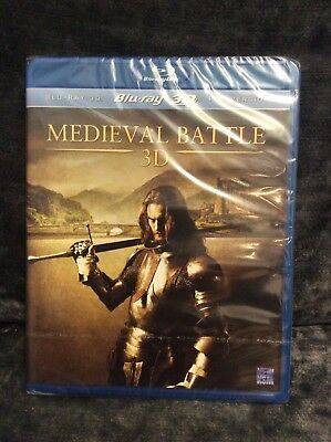 Medieval Battle 3D - Blu-ray - Brand New and Sealed