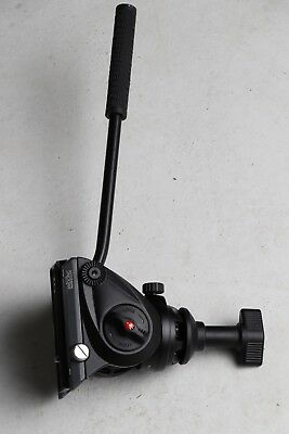Manfrotto MVH500A Pro Fluid Video Tripod Head with 60mm Half Ball - Used
